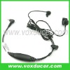For Puxing ham radio PX-6A PX-2R in-ear earphone with bone vibration mic