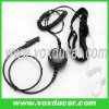 For RELM two way radio RPV3600 PRU3600 military heavy duty throat vibration earphone