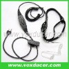 For Vertex cb radio VX-500 VX-510 throat vibration neckband earphone