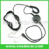 For WOUXUN walkie talkie KG689 KG-UVD1P heavy duty PTT clear tube headphone with throat mic