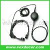 For Yaesu Vertex handheld radio  VX170 VX177 hands free throat mic