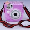 Fuji Instax Mini 25 Camera Pink Protection Case Bag