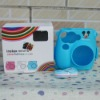 Fuji Instax Mini 7S Camera Mikey Pastic Case Bag Blue Color