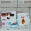 Fuji Instax Mini 7S Camera Pooh Pastic Case Bag White Color