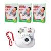 Fujifilm Instant 25 White fuji Mini 25 Camera Instax KT