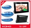 """Full HD 10.1"""" 1080P digital photo frame with IPS panel"""