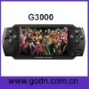 G3000  lcd mp4 player support CPS1,CPS2 Arcade games, USB OTG, camera, tv out