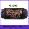 G3000 mp4 touch camera 8gb game support  CPS1 ,CPS2  Arcade games, USB OTG, camera, tv out