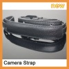 Genuine Leather Camera Strap for SLR camera ,Digital camera, Camcorder, and Video camera