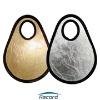 Gold and silver mini-board 30cm