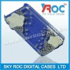 Good quality transparent rhinestone phone covers for 4gs