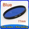 Graduated color filter 77mm camera lens accessories