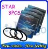 Green .L 62mm Star Filter Rotating 4+6+8 Point Filter For Digital Camera