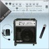 Guitar Amplifier With MP3 Player & Wireless Microphones