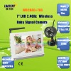 "HD 7"" TFT Color LCD 2.4GHz Wireless Singal Baby Monitor Support 4 Channels 15m IR Distance 100m Transmission"