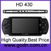 HD430 oem mp4 pmp player 4GB 4.3inch TFT screen 4gb handled game player  support camera, TV OUT ,8/16/32 bits games