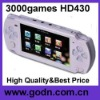 HD430 touch button mp4 support camera, TV OUT ,8/16/32 bits games