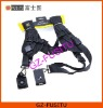 Heavy-duty Quick Double Shoulder Sling Black Dual Strap