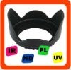 High ZOMEI flower lens hood for DLSR Cameras 77mm