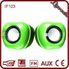 Hot 2.0 cute apple loud speaker