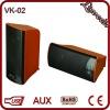 Hottest 2.0 mini stereo speaker VK -02