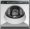IR-40M HD Vandal Proof IP dome Camera
