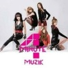 K-pop, Korean Music CD 4MINUTE - MUZIK (LIMITED PHOTO JAPAN VERSION C) (PHOTO BOOK)