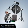 KS-500L series LCD Screen Flash Light kit
