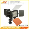 LED lamp light DV camcorder lamp 5010A with F750 battery