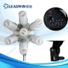 LW-CL07 LEADWIN 7 Head AC Socket studio Continuous Light