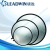 LW-RD80 LEADWIN 2-in-1 Sliver and Gold collapsible Circular studio reflector