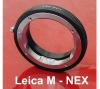 Leica M LM lens to E Mount NEX NEX3 NEX5 adapter ring