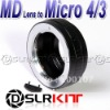 Lens Adapter Ring For Minolta MD MC Lens and Micro 4/3 M4/3 Mount GF2 GF3 G2 G3 GH2 E-P3 P2 PL3