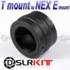 Lens Adapter Ring For T T2 mount Lens and SONY NEX E Mount Adapter NEX-7 NEX-5 NEX-3 NEX-VG10