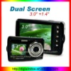 Max 16MP Dual Screen Digital Camera for Self-shooting with Video Recorder (DW-DC-T50E)