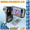 Mini Camcorder/ Digital Still Camcorder/ Digital Vidicon with 720p and HDMI output (HDTV C5)