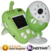 Mother care digital apple baby monitor 2.4G wireless with temperature and time displayed (reasonable price)