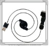 Multi-functional Retractable Data Cable for iPad/Iphone /iPod