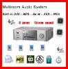 Multiroom & Multizone Background Music System