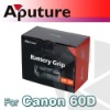 Mutifunctions Battery grip for Canon 60D