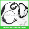 Neckband style throat vibration headphone for Icom ham radios IC-F20 IC-H2 IC-H6 IC-J12