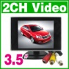 """New 3.5 """" TFT Car Monitor Color  LCD camera DVD VCR CCTV"""