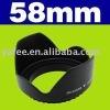 New 58mm Screw Mount Lens Hood