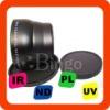 New 72mm 2.2X Tele Lens For SONY DSC-H50 DSC-H9