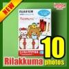 New Fuji instax mini polaroid character film Rilakkuma