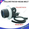 New brand!DSLR Follow Focus FF for 15mm rod support 60D 600D 5D2