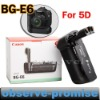 OEM Replacement of digital camera battery grip BG-E6 5D