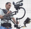PROAIM C-Flycam Steadycam with Comfort Arm Vest Stabilization System For DSLR / DV / HDV upto 8lbs cameras
