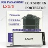 PROFESSIONAL PRO OPTICAL GLASS LCD SCREEN PROTECTOR FOR PANASONIC LX3/5