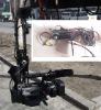Pan Tilt Head for JIB triangle Camera Crane  (L shape)